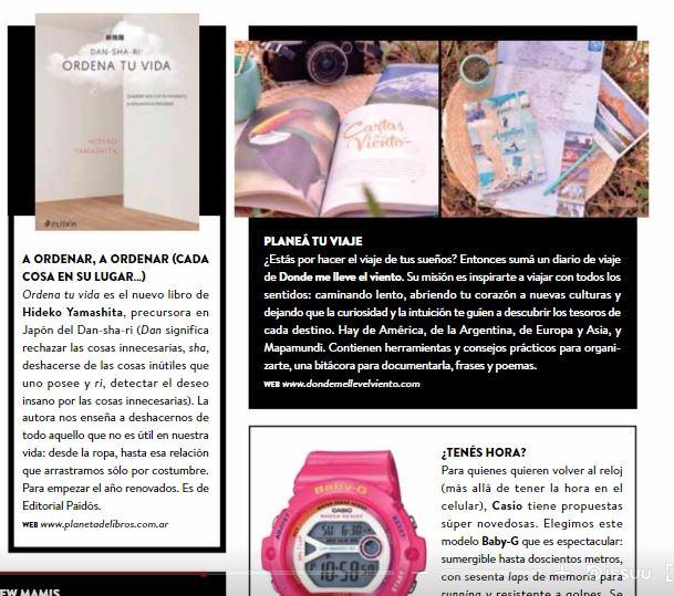 Cuadernos de viaje Donde me lleve el viento en Revista Tigris marzo 2017