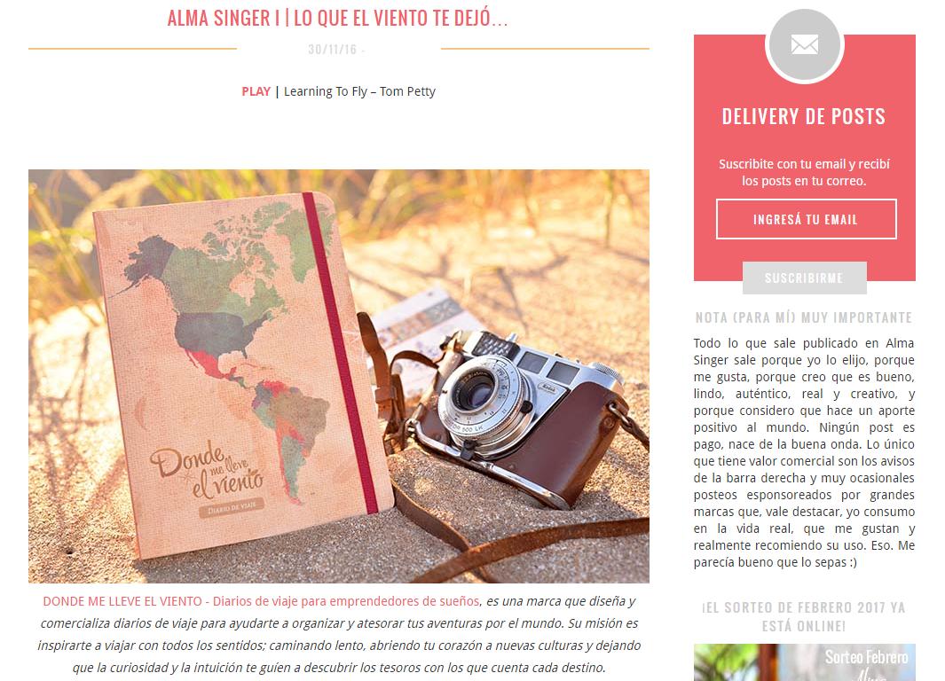 Entrevista con Vero Mariani – Alma Singer