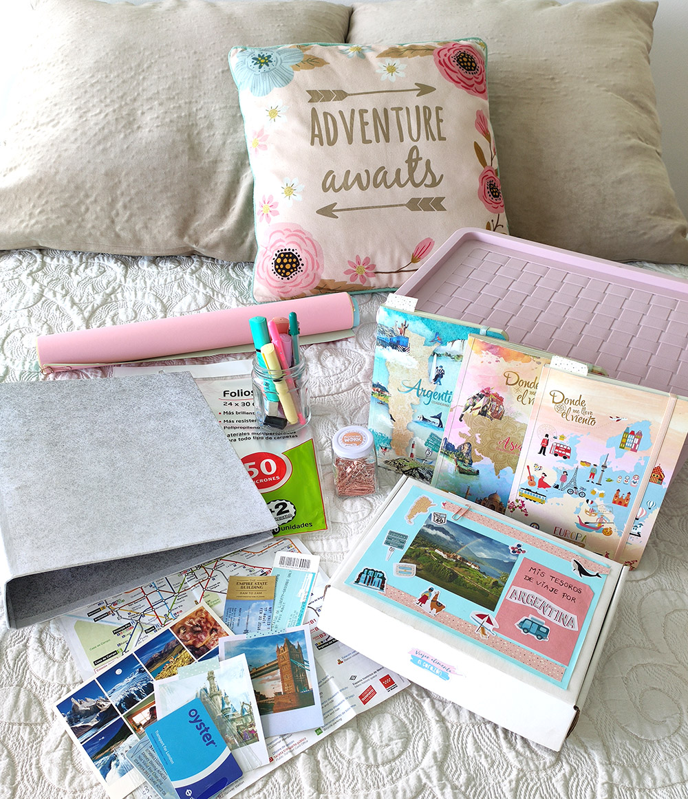 TUTORIAL: ¿Cómo organizar y guardar los folletos, fotos y recuerdos de viaje?